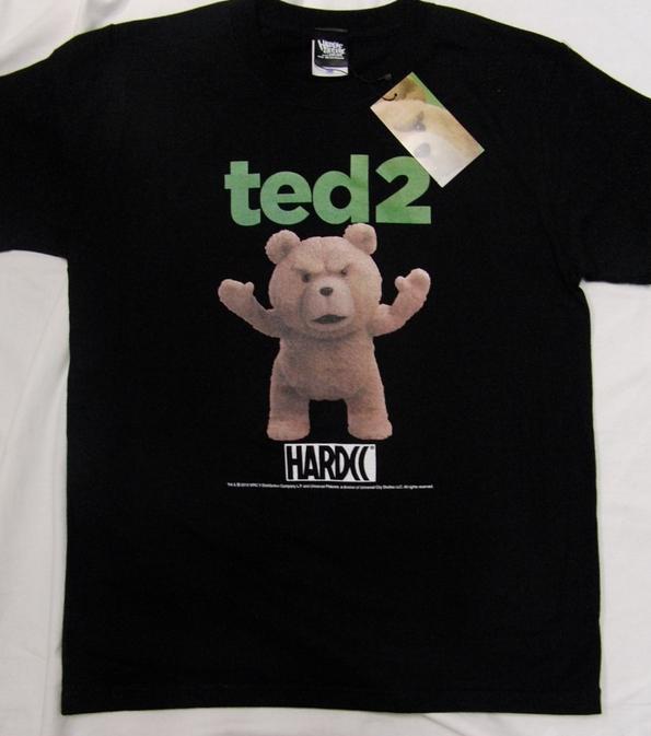 世界一お下品なテディベア「テッド」がこの夏帰ってくる! 映画『テッド2』公開を記念したコラボTシャツがめちゃんこ可愛いのだ♪
