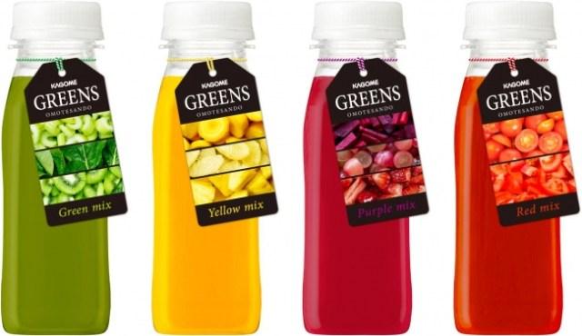 """野菜を """"まるかじり"""" しているみたい!? 鮮度を感じる新ジャンルの生鮮飲料「GREENS」を味わえるジュースバーが期間限定オープン♪"""