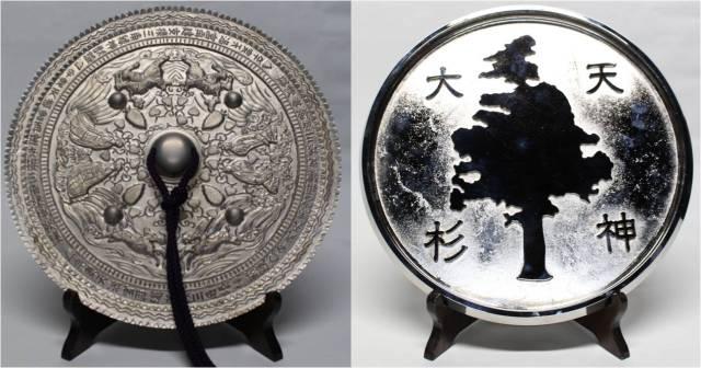 なんだかマジカルなことが起こりそう…日本でただ一人の魔鏡職人がつくった世界最大の「魔鏡」が完成したよ!