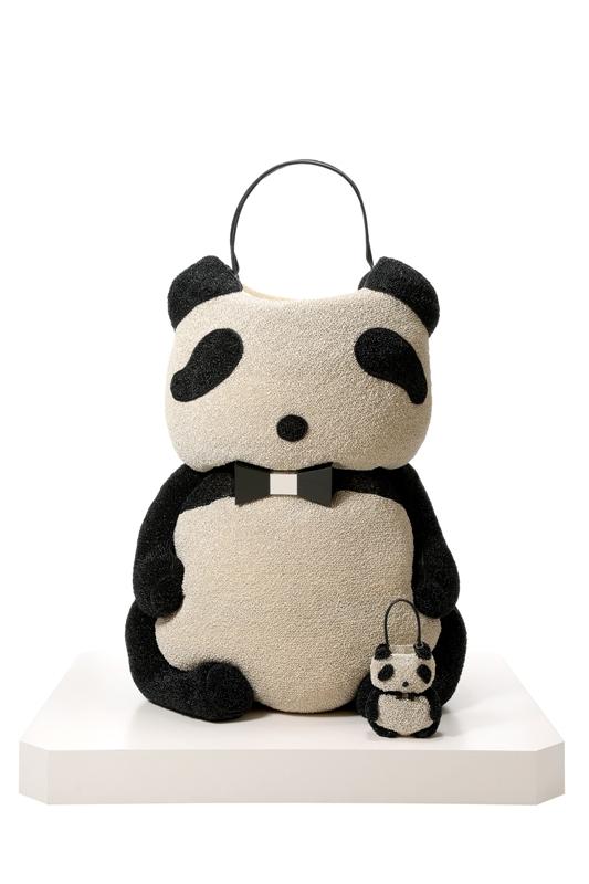 アンテプリマの「ジャイアント・パンダ・ワイヤーバッグ」が本気でジャイアント / お値段もジャイアントな350万円なり!