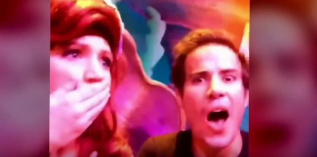 口パク動画が作れるアプリでディズニー・ワールドのキャラクターたちと「歌ってみた」ところ…!?