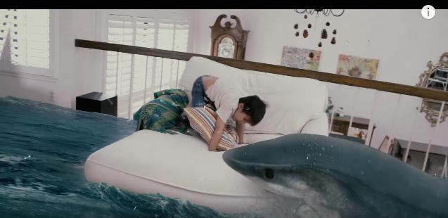 リビングに巨大ザメが出現!? 勇敢に戦う男の子にキューンとしちゃう超リアルな「CG作品」を見つけたよ!