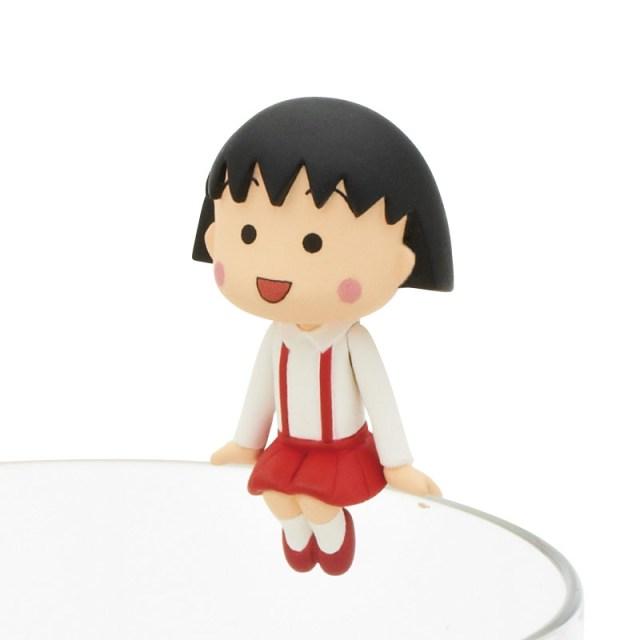 国民的人気アニメ「ちびまる子ちゃん」がコップのフチに舞い降りる! 売り上げ収益全額は東日本大震災被災地3県の子供たちに寄付