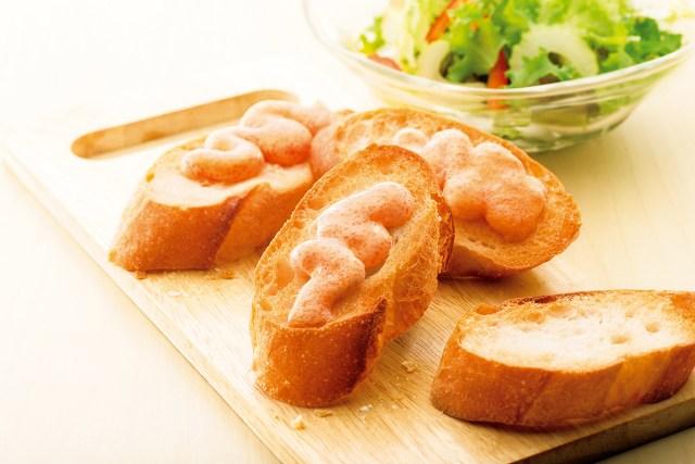 絶対欲しい~!! 福岡の老舗が作った「明太子バター」チューブ入り☆コレさえあれば明太子フランスやパスタも簡単に作れちゃうぞ!