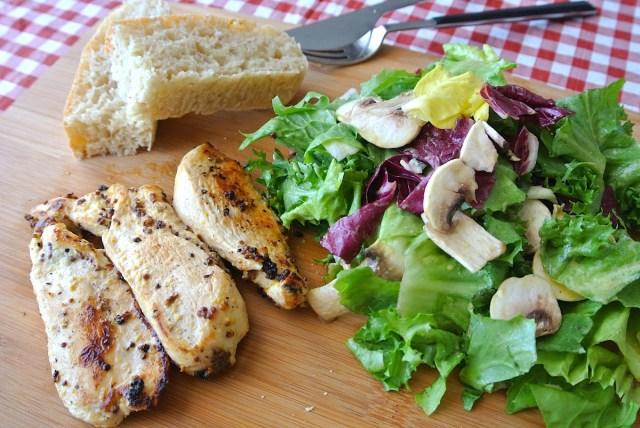 【超お手軽フランスご飯】ワインによく合うフランスの定番料理「マスタード・チキン」! サンドイッチにしても最高なのでお試しあれ