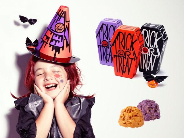 かわいくて楽しくておいしそう! 魔女の帽子型パッケージの資生堂パーラー「ハロウィンショコラ」は一石三鳥です♪