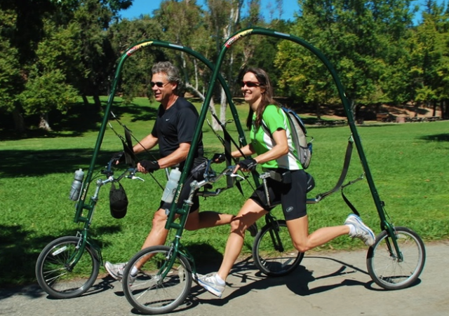 楽して走れる夢のランニングマシン「グライドサイクル」運動が苦手な人もリハビリ中の人も疾走感を楽しめちゃう☆
