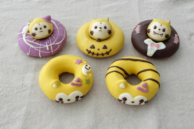 ハロウィン仕様のラスカルが可愛すぎっ☆ 「フロレスタ」と「あらいぐまラスカル」のコラボドーナツが期間限定で発売!