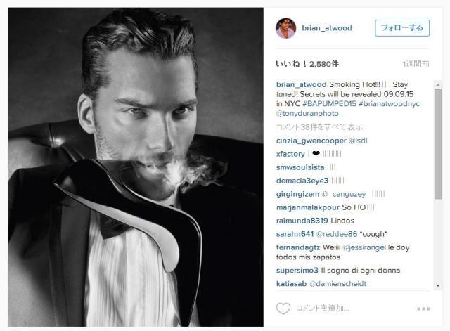 美しすぎ&赤面しちゃうほど刺激的!! シューズブランド「Brian Atwood」が広告にイケメン男性モデルたちをフィーチャー!