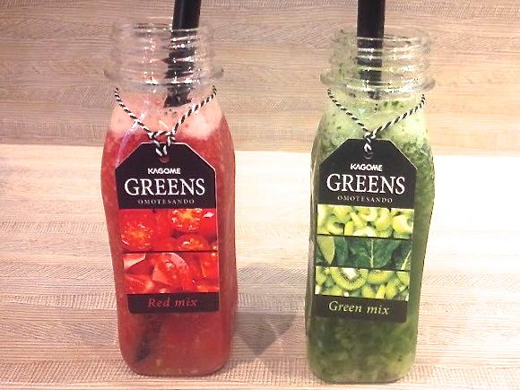 """野菜がザックザク! カゴメのジュースバー「GREENS OMOTESANDO」で """"食べる野菜ジュース"""" を味わってきた!"""
