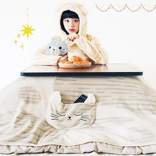 【もふもふ冬支度】行けーっこたつ占拠だニャ!「もふもふ猫軍団」シリーズが『フェリシモ猫部』から新登場したよ!!