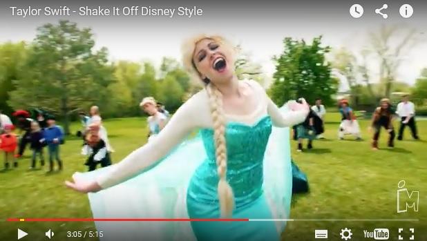 数えきれないほど多くのディズニーキャラたちが歌って踊る!! テイラー・スウィフトの「Shake it off」パロディ動画