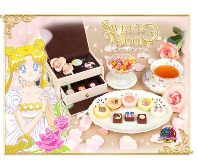 「美少女戦士セーラームーン」をモチーフにしたスイーツ『SWEET MOON』が可愛すぎる! 乙女の財布のヒモがどんどんゆるくなっていくよぉ〜!!
