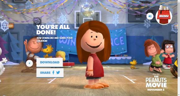 【スヌーピー】簡単なステップでOK! 自分にそっくりな「ピーナッツ」キャラクターを作れちゃうサイトを見つけたよ☆