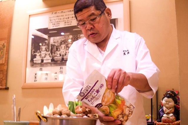 西友の「195円ちゃんこ鍋つゆ」は美味しいの? 元お相撲さんのちゃんこ屋店長に確かめてもらった