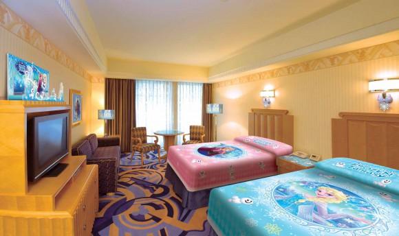 【10月20日より予約開始】ディズニーアンバサダーホテルに「アナと雪の女王」スペシャルルームが登場するよ!