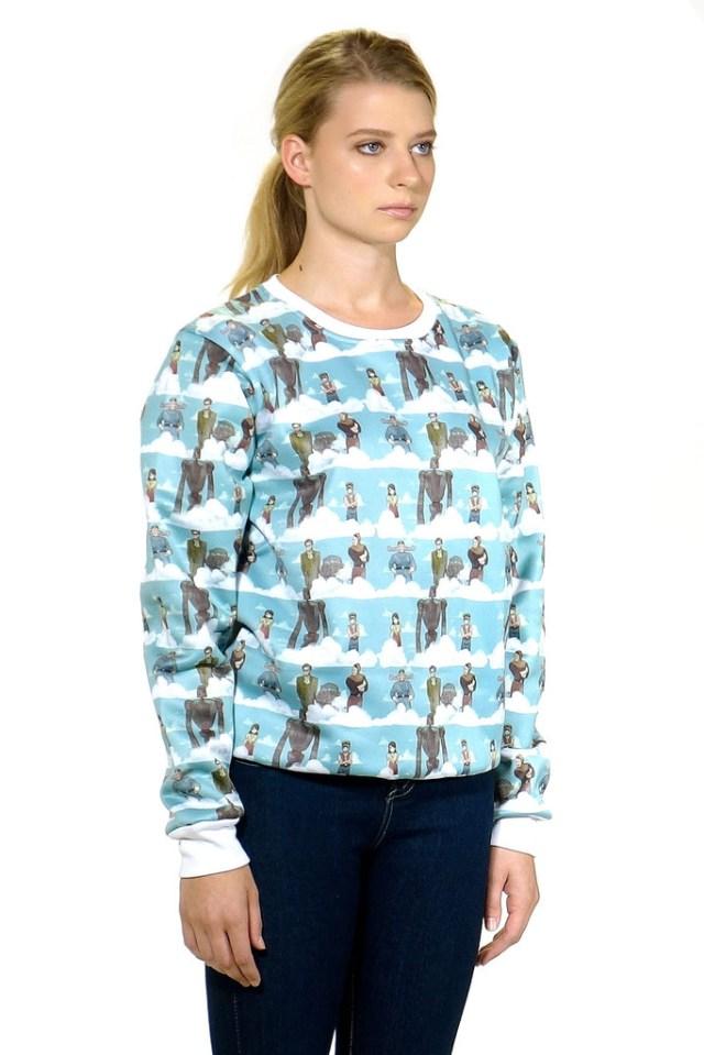 ジブリの人気キャラがそろい踏み♪ ナウシカやトトロなど「スタジオジブリ」作品をフィーチャーしたお洋服を発見★
