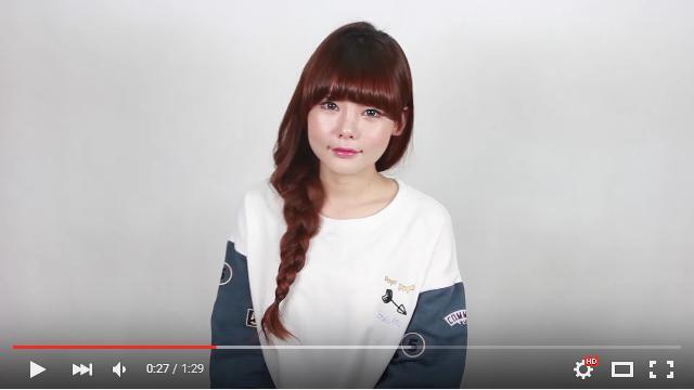 ハサミでチョキンと◯◯を切る! 韓国発「ふんわり三つ編み」の作り方が斬新だけどめちゃ使える♪