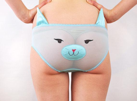 「幼さ」×「セクシー」の融合!? 超攻めた動物顏の勝負パンツを発見したなり♡