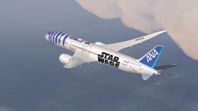 この秋、スター・ウォーズデザインの「ANA JET」が就航スタート! 空の旅もフォースとともにあらんことを