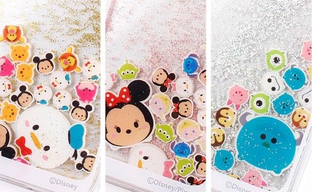 【ディズニーツムツム】全16種類のディズニーキャラが水の中でゆらゆら揺れる「リキッドiPhoneケース」が誕生!