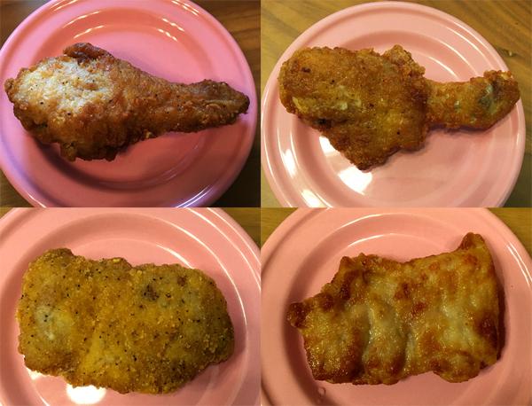 コンビニ4社が出してるフライドチキンの食べ比べをしてみた! 今年のクリスマスにイチオシなのはどのチキン!?