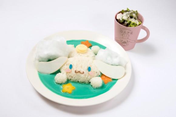 サンリオ「シナモロール」が初めてのコラボカフェを渋谷パルコにオープン! キュートな攻めのメニューでお出迎え♪
