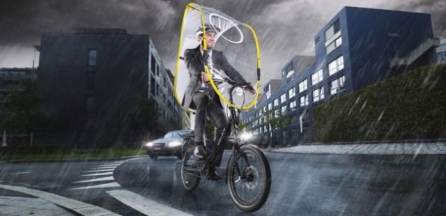 スイスを中心にヨーロッパで大人気! シャレオツな自転車用雨よけシールド「dryve」が日本初上陸★