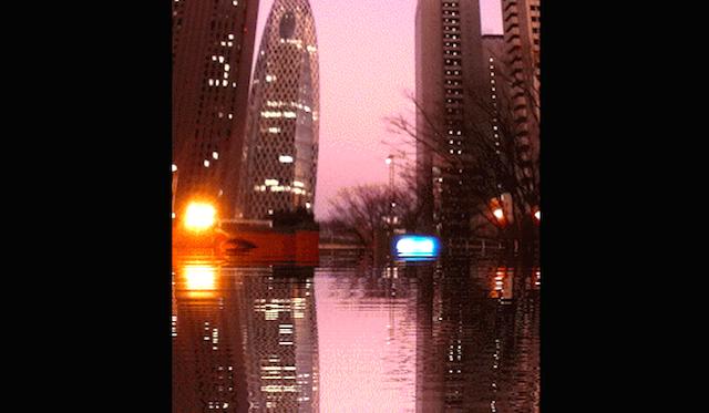 フツーの写真が幻想的に! 水面に映る景色を撮影したような「GIFアニメ画像を作れるサイト」で切ない気分に浸ろう