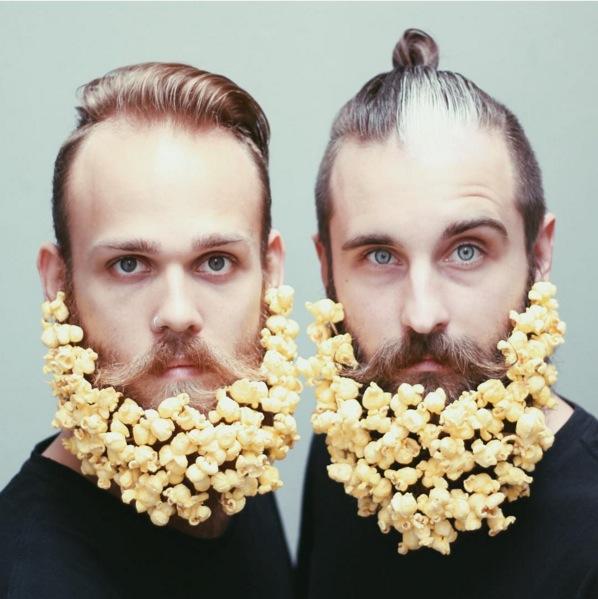 【オシャレ☆】仲良しヒゲ男子2人によるインスタグラム「The Gay Beards 」のヒゲアレンジがすごすぎる!!