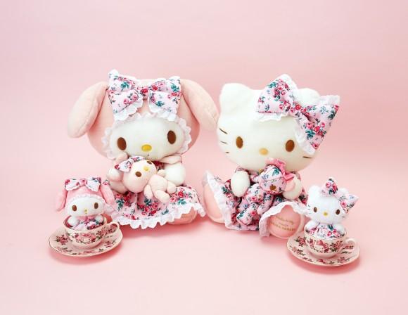 ハローキティ&マイメロが英ブランド「ローラ・アシュレイ」とコラボ! バラモチーフと優しいピンク色がオトナの乙女心にストライク♪