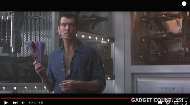 映画『007』各作品にはこんなスゴい「スパイ道具」が出てた! 24作品すべてを振り返ったアイテム動画にワクワクがとまらない♪