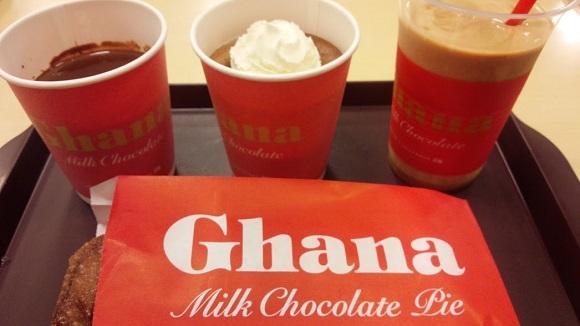 【チョコ好き女子はロッテリアへGo!】とろーりとろけるチョコがたまらない♪ 冬に嬉しいガーナコラボメニューが出たっ!