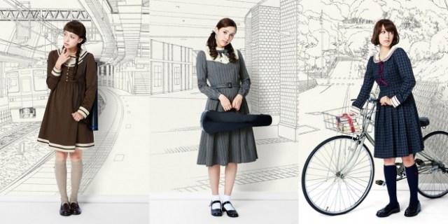 これぞ全オトメの夢……! 少女マンガに出てきそうな「お嬢様制服」風のワンピが発売されたよ~!