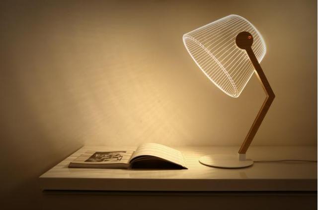 """横から見るとぺったんこ! 不思議な """"トリックアート"""" LEDランプに新デザインが登場したよ♪ 寿命はなんと5万時間…!!"""