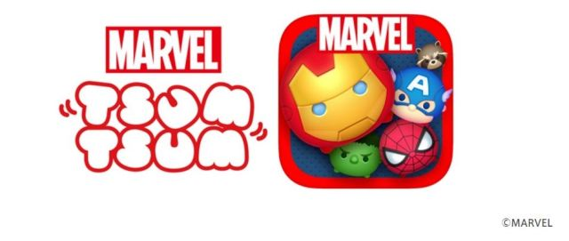 来春に「マーベル ツムツム」くるよ! アイアンマンやスパイダーマンなんかのマーベルヒーローズがツムツムになるんだって♪