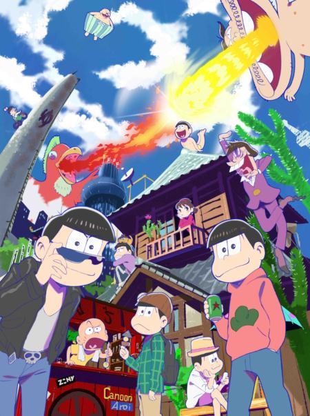 「おそ松さん in ナンジャタウン」開催! キャラクターモチーフのフード&デザートにオリジナルグッズ、イヤミのおみくじルーレットもあるよ!!