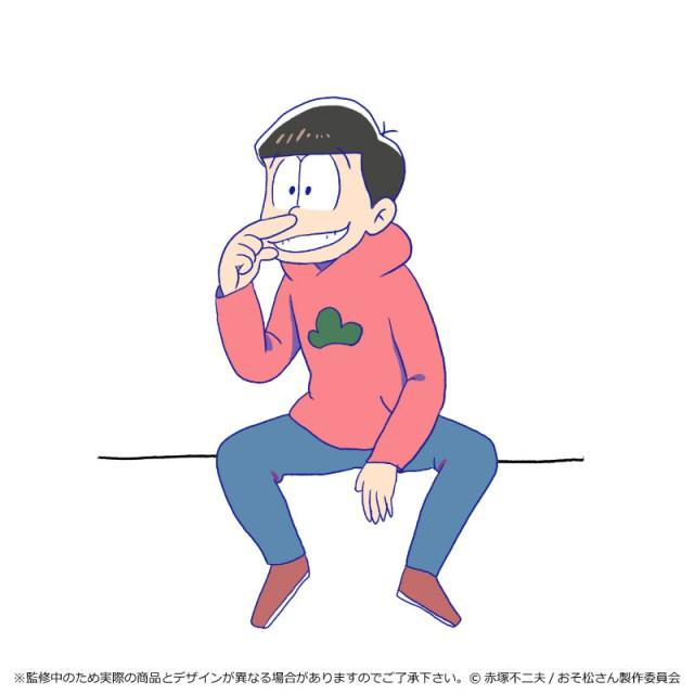 『おそ松さん』が奇譚クラブとコラボ!! 六つ子それぞれのキャラにピッタリなポージングでコップのフチに舞い降りマッスル~!