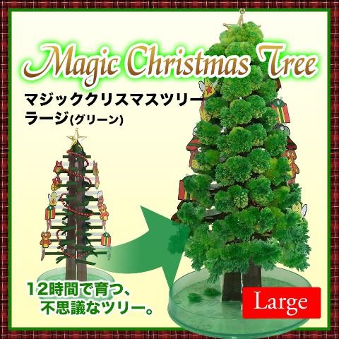 ヒミツは魔法の水…!? 自分で育てる「クリスマスツリー」と「スノーマン」がとっても不思議です!