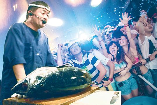 【女性無料】ハウスミュージックに合わせてマグロをさばく…正気の沙汰とは思えないクラブイベントが渋谷で開催されるよ!