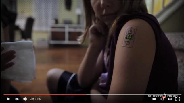 SF映画のアンドロイドになった気分! カラダに埋め込む「医療用・電子タトゥー」がアメリカで開発されたよ!!