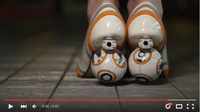 新作『スター・ウォーズ 』の「BB-8」みたいなハイヒール! コロコロ回る靴をレッツ☆DIY!!