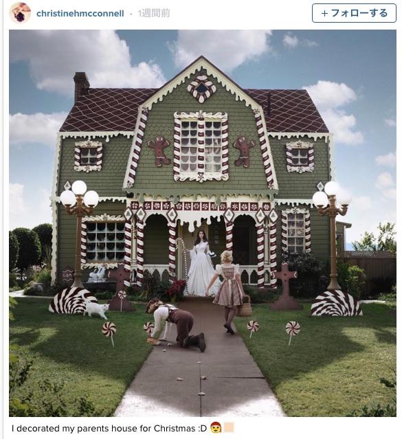 実物大「ヘンゼルとグレーテルのお菓子の家」!! 一軒家をジンジャーブレッドハウスに改装した写真がダークファンタジー感あふれてて素敵☆