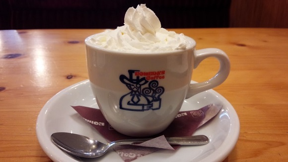 【コメダの新メニュー】小倉あんを投入した異色のコーヒー「小倉小町」を飲んでみた! まるでデザートセットを食べた満足感に浸れるよ!!