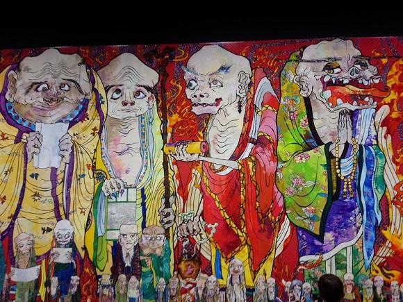 村上隆14年ぶりの大規模展「五百羅漢図展」開催中! ある「お寺」に足を運ぶと作品がもっと深く楽しめるのです♪