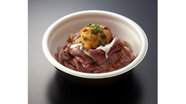 ローストビーフにウニが乗った極上の丼ぶりが素晴らしい…新春限定の肉フェスは見逃せないラインナップだぞ!
