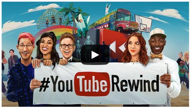 2015年に流行したあれこれが丸わかり! YouTubeが1年を振り返る動画『YouTube Rewind』を公開しているよ☆