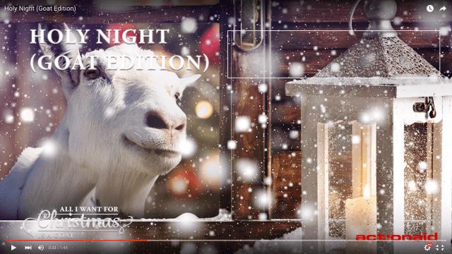 【ヤギ愛が試される】ヤギの鳴き声を集めて作ったクリスマスソングがあまりにもヤバすぎる!! 無類の動物好きでもこれはさすがにヤバイと震えた
