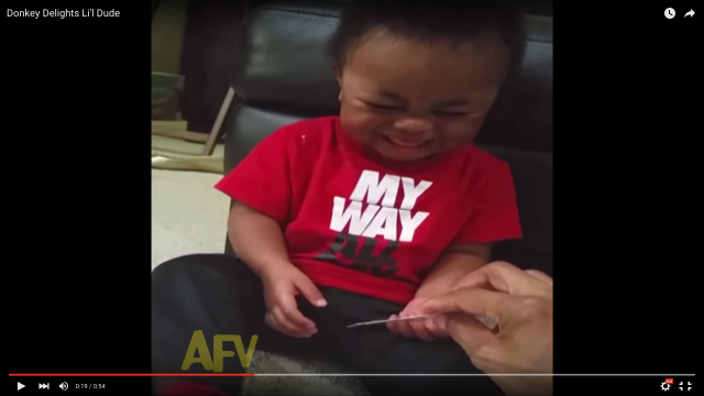 「ドンキー」という言葉に猛烈にツボってしまった赤ちゃんが可愛すぎ! 笑い声につい「もらい笑い」しちゃう人が続出中〜!!!!