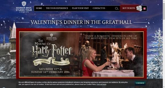 映画『ハリー・ポッター』シリーズでおなじみ「ホグワーツ魔法学校」で過ごすバレンタインツアーが素敵すぎ…!